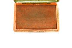 Rode oude zegel Royalty-vrije Stock Fotografie