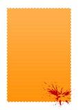 Rode overeenkomstendocument grunge styl vector illustratie