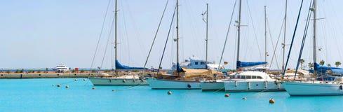 Rode Overzeese haven Royalty-vrije Stock Fotografie