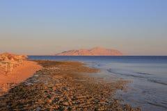 Rode Overzeese kust Royalty-vrije Stock Foto's