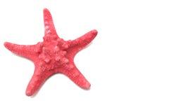 Rode overzeese sterren Stock Afbeeldingen
