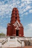 Rode Pagode bij het Historische Park van Phra Nakhon Khiri Stock Afbeeldingen