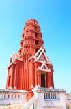 Rode pagodekao wung, petchaburiprovincie, Royalty-vrije Stock Afbeeldingen