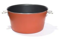 Rode pan Royalty-vrije Stock Afbeeldingen