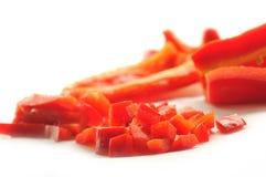 Rode paprika Royalty-vrije Stock Afbeelding