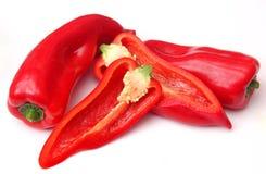 Rode paprika Stock Foto