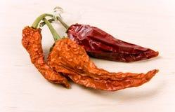 Rode paprika Royalty-vrije Stock Afbeeldingen