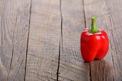 Rode paprika, groene paprika Stock Afbeelding