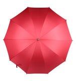 Rode paraplu Stock Foto