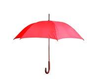 Rode paraplu Stock Afbeeldingen
