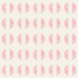 Rode patroon geometrische vectorachtergrond Royalty-vrije Stock Afbeelding