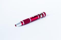 Rode Pen Royalty-vrije Stock Afbeeldingen