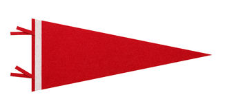 Rode Penant Royalty-vrije Stock Afbeelding