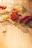 Rode pesto Stock Foto
