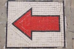 Rode pijl Royalty-vrije Stock Afbeelding