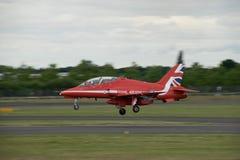 Rode Pijlen Farnborough Airshow 2016 Stock Afbeeldingen