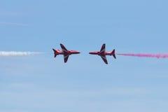 Rode Pijlen in Wales Nationale Airshow 2017 Royalty-vrije Stock Afbeeldingen