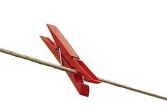 Rode pin Stock Afbeeldingen