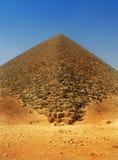 Rode piramide van Sneferu in Dahshur, Kaïro, Egypte royalty-vrije stock foto