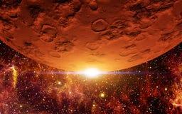 Rode Planeet Stock Afbeelding