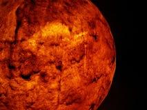 Rode planeet stock fotografie