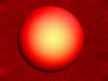 Rode planeet Royalty-vrije Stock Foto's