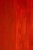 Rode planken Stock Afbeelding