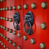 Rode Poort Royalty-vrije Stock Afbeelding