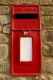 Rode PostDoos Royalty-vrije Stock Foto's
