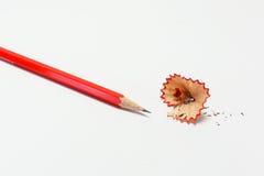 Rode potloden Royalty-vrije Stock Foto