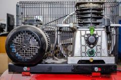 Rode productiecompressor royalty-vrije stock fotografie
