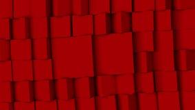Rode raadsel bewegende achtergrond stock illustratie
