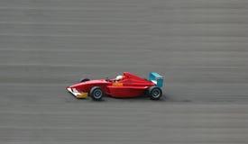 Rode Raceauto royalty-vrije stock afbeeldingen
