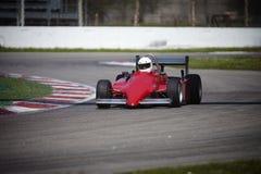 Rode raceauto Stock Foto's