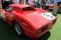 Rode raceauto 02 van jaren '60ferrari Stock Afbeelding