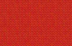 Rode realistische eenvoudig breit textuur vector naadloos patroon vector illustratie