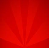 Rode retro Achtergrond Uitstekend stralenpatroon Stock Fotografie
