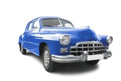 Rode retro auto stock fotografie