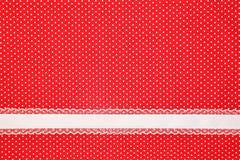 Rode retro stip Stock Afbeelding
