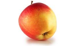 Rode rijpe appel. royalty-vrije stock afbeeldingen