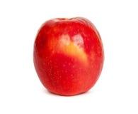 Rode rijpe appel Stock Afbeeldingen