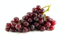 Rode rijpe druif Royalty-vrije Stock Foto's