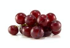 Rode rijpe druif Stock Foto's