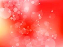 Rode romantische achtergrond Royalty-vrije Illustratie