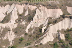 Rode Rose Valley, Goreme, Cappadocia, Turkije Royalty-vrije Stock Afbeelding
