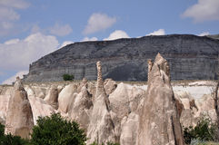 Rode Rose Valley, Goreme, Cappadocia, Turkije Stock Foto's
