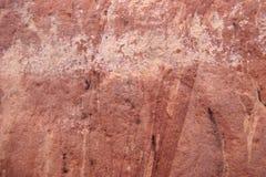 Rode rots in Australië Stock Afbeelding