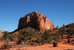 Rode Rots dichtbij Sedona, Arizona Stock Afbeeldingen