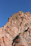 Rode Rots in Tuin van de Goden Colorado Royalty-vrije Stock Fotografie