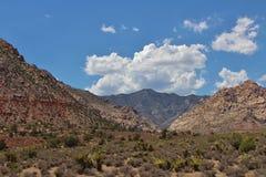 Rode Rotscanion, Nevada, de V.S. Royalty-vrije Stock Foto's